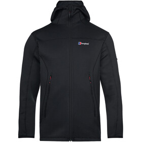 Berghaus Pravitale MTN 2.0 Hooded Fleece Jacket Men, grijs/zwart